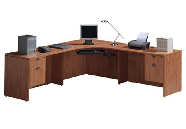 Classic extended corner unit classic laminate collection desks