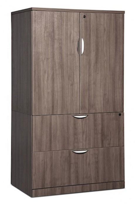 classeur lat ral avec armoire de rangement classique. Black Bedroom Furniture Sets. Home Design Ideas