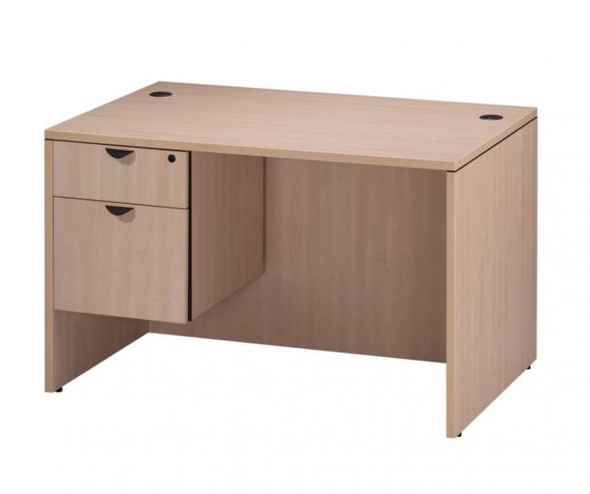 bureau classique 48 de large avec choix de caisson simple. Black Bedroom Furniture Sets. Home Design Ideas