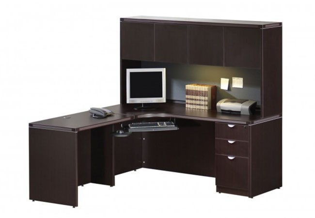 ensemble de poste de travail profile. Black Bedroom Furniture Sets. Home Design Ideas