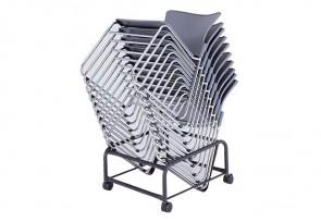 Chariot pour chaises visiteurs