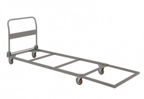 Chariot pour tables pliantes rondes ou rectangulaires