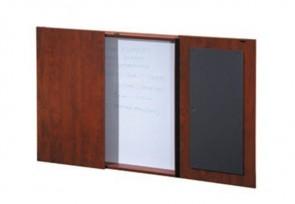Tableau avec portes pour salle de conférence