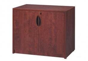 Cabinet à portes doubles verrouillables classique